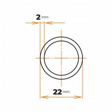 Rúra konštrukčná 22x2 mm