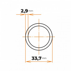 Rúra ZN 33,7x2,9 mm (1)