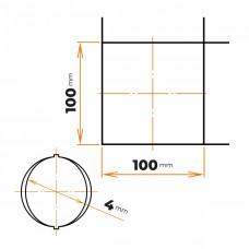 Sieť 4/100x100 2000x3000 mm