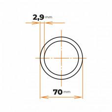 Rúra zváraná 70x2,9 mm