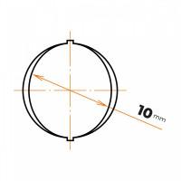 Oceľ betonárska 10 mm