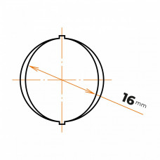 Oceľ betonárska 16 mm