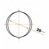 Oceľ betonárska 20 mm