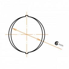 Oceľ betonárska 6 mm