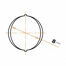 Oceľ betonárska 8 mm