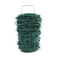 Drôt ostnatý 100 m PVC