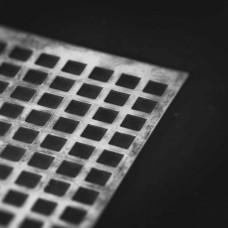 Plech perforovaný Qg 10x10/14 / 1 mm ZN