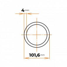 Rúra bezšvová 101,6x4 mm