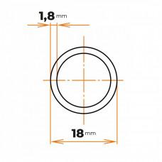 Rúra zváraná 18x1,8 mm