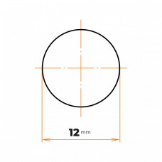 Tyč kruhová 12 mm