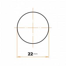 Tyč kruhová 22 mm