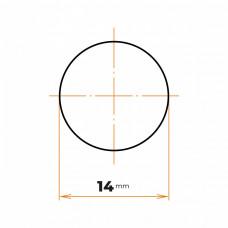 Tyč kruhová presná 14 mm