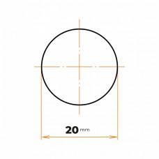 Tyč kruhová presná 20 mm