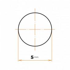 Tyč kruhová presná  5 mm