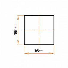 Tyč štvorhranná 16x16 mm